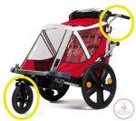 Bellelli Urban Kit első kerék és tolókar szett biciklis utánfutóhoz