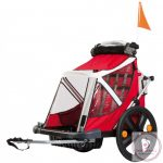 Bellelli B-Travel biciklis utánfutó 32kg-ig - Red