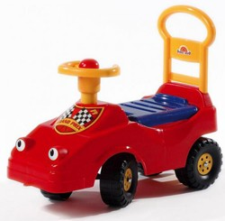 Bébi taxi, piros