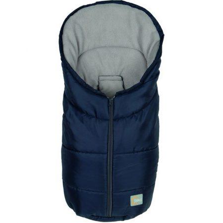 Fillikid bundazsák Eco Small hordozóba 80x45 cm kék --1219-01