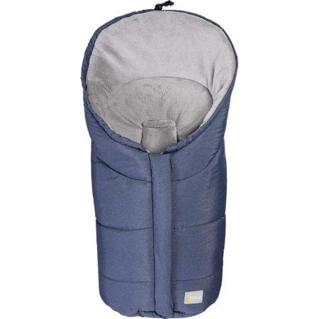 Fillikid bundazsák Eiger hordozóba 80x45 cm melange-kék --9408-91