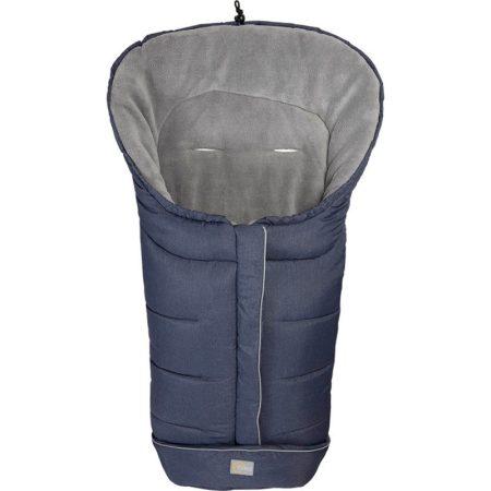 Fillikid bundazsák K2 babakocsiba 100x50 cm melange-kék --6570-91