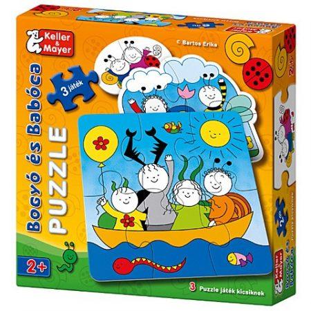 Bogyó és Babóca Puzzle Baba