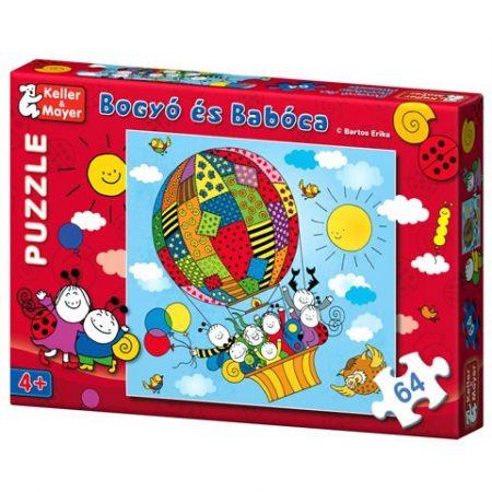 Bogyó és Babóca Puzzle Léghajó 64 db-os