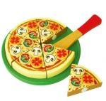 Fa játék pizza papírdobozban