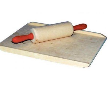 Fa játék gyúrótábla sodrófával