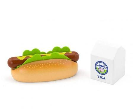 Játék Hot dog és tej