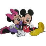 Marko Falidekor Mickey és Minnie --SRMK-0020