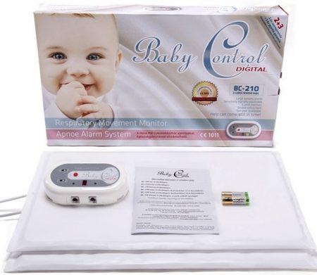 Baby Control BC-210 kétpados légzésfigyelő - KÖLCSÖNZÉS
