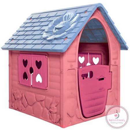 Játék házikó, rózsaszín 106 x 98 x 90 cm