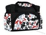 BabyLux mintás pelenka táska - Fekete állatos