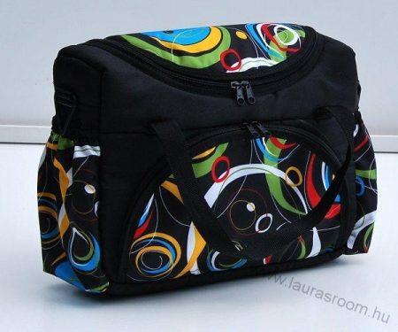 BabyLux mintás pelenka táska- Absztrakt