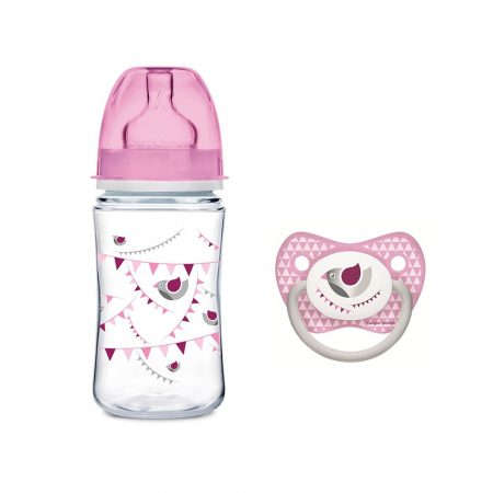Canpol cumisüveg+ cumi   Anti-Colic Bottle 240ml