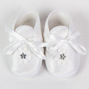 Keresztelő cipő, lányos