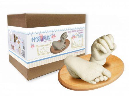 Kéz-és lábszobor készítő készlet, nagy (3D lenyomat készítő)