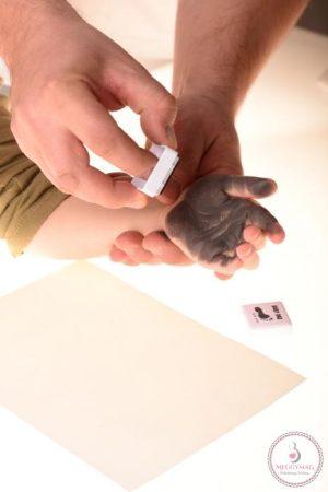 Babydab lenyomat készítő - lila