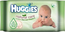 Törlőkendő, Huggies natural care, aloe verával