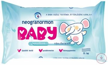 Törlőkendő, Neogranormon sensitive
