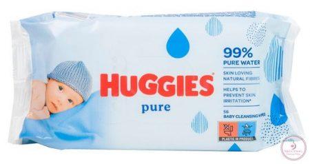 Törlőkendő, Huggies pure AJÁNLJUK!