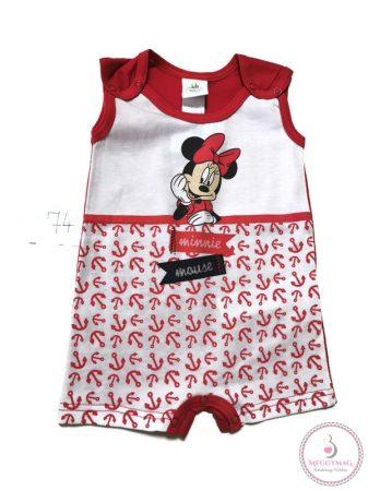 Disney tengerész Minnie ujjatlan baba napozó 74-es