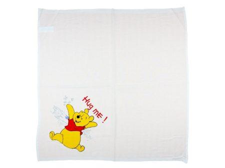Disney Micimackó textil pelenka (tetra, méret: 70x70)
