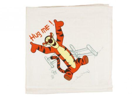 Disney Tigris textil pelenka (tetra, méret: 70x70)