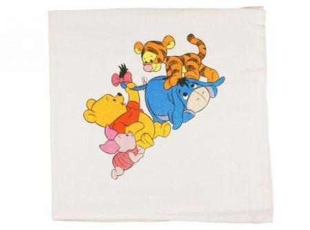 Disney Micimackó és barátai textil pelenka (tetra, méret: 70x70)