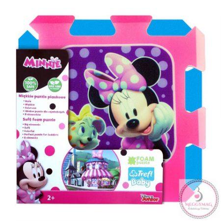 Minnie egér szivacs puzzle játszószőnyeg