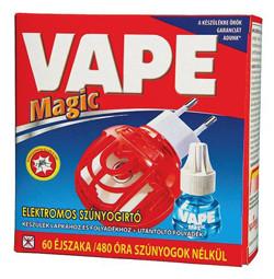 Vape Magic elektromos szúnyogirtó készülék és utántöltő folyadék,