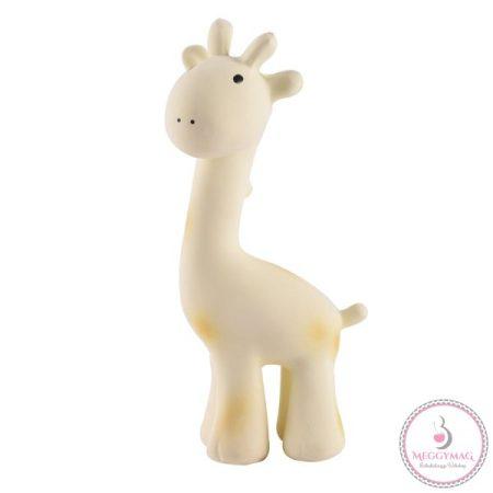 Tikiri zsiráf csörgő természetes gumiból