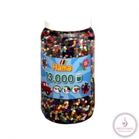 Hama, Pantone mix vasalható gyöngy 13000 db-os